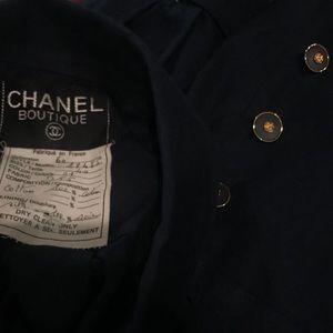 Vintage Chanel silk lined blazer